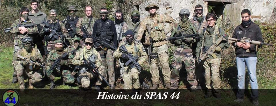 L'histoire du SPAS 44